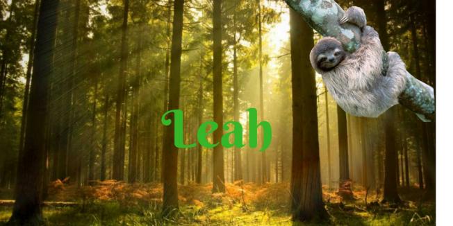 Leah's signoff