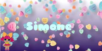 Simone's signoff