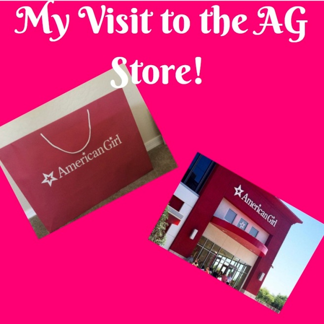 My Visit to the AG Store!